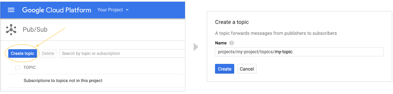 Create a Google Cloud Platform project